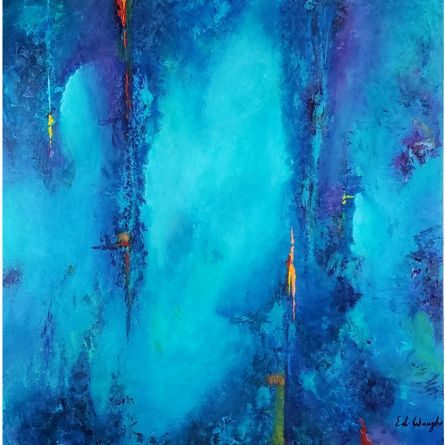 Depths Below – Acrylic Painting – 36×36