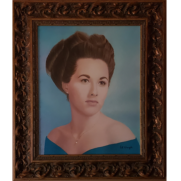 Wife of My Youth - Portrait - Oil Painting - 16x20 - Not For Sale