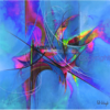 Hot Jazz Abstract Painting