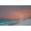 Destin Sunset ��� 24��� x 36��� Acrylic Painting on Stretched Canvas